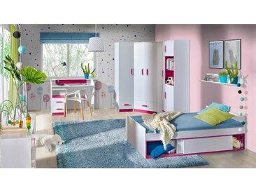 Stylefy Taira V Ensemble de chambre d'enfant Blanc Rose