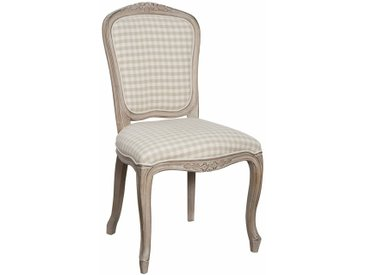 Stylefy Venezia Chaise en bois Bouleau Beige
