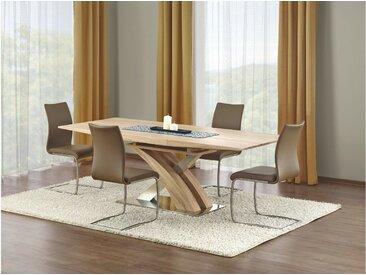 Stylefy Sandor Table salle a manger Sonoma Chene