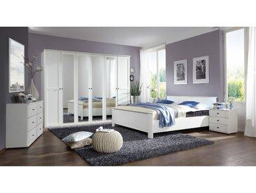 Stylefy Teresa Ensemble de chambre a coucher Blanc