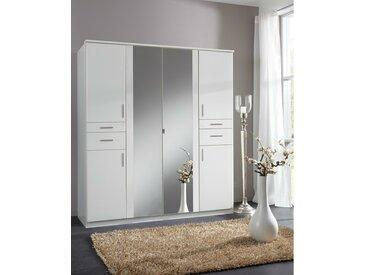 Stylefy Embu Armoire a portes battantes Blanc