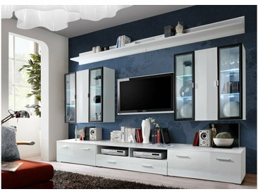 Stylefy ICALIND Ensemble TV mural Blanc