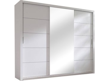 Stylefy 250 armoire-penderie Blanc 250x215x62 cm