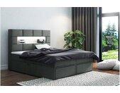 Comfy Lit boxspring 180x200 cm Gris