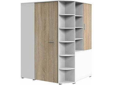 Stylefy Lio Armoire d'angle Blanc