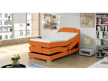 Stylefy Wave Lit boxspring Orange 100x200 cm