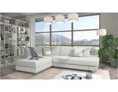 Loona Canape Cuir synthetique Blanc