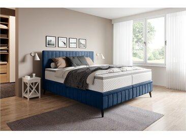 Stylefy Cayamant Lits rembourré Bleu