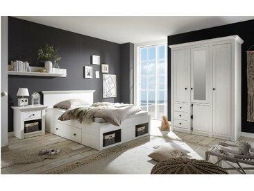 Stylefy Liliann Ensemble de chambre a coucher Blanc