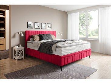 Stylefy Cayamant Lits rembourré Rouge