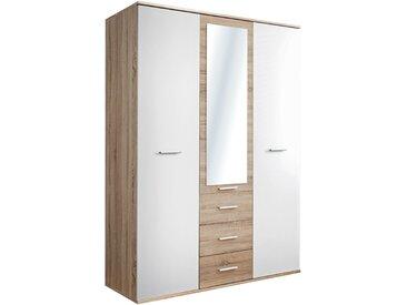 Stylefy Dino 3D Armoire portes battantes Chene Sonoma | Blanc