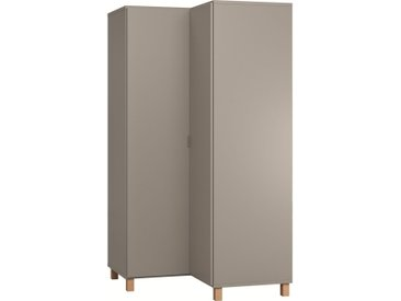 Stylefy Simplica IV Armoire d'angle Gris