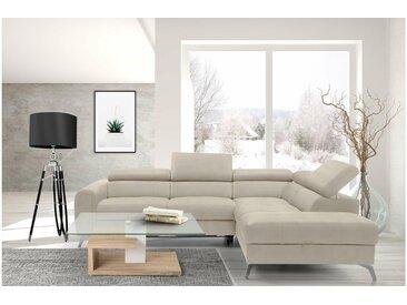 Stylefy Haydee Canapé d'angle sans Beige