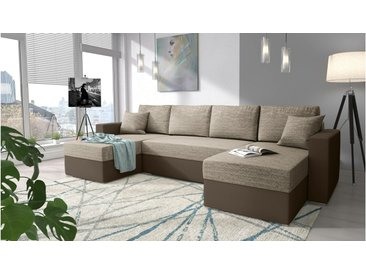 Stylefy Rubicon Canape panoramique Cuir synthetique