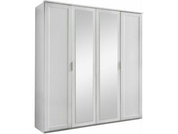 Stylefy Clara Armoire a portes battantes Blanc