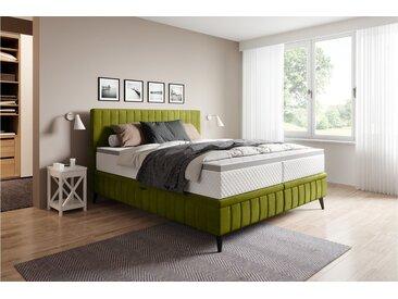 Stylefy Cayamant Lits rembourré Vert