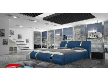 Stylefy Atlantis Lit rembourre Bleu 160x200