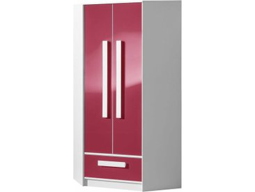 Stylefy Goldie Armoire d'angle II Blanc Rose