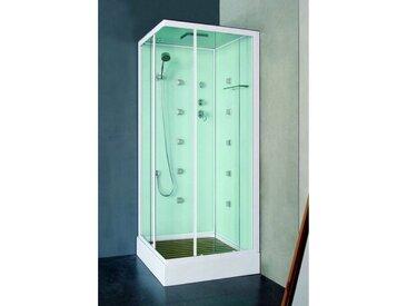 Cabine de douche SINES 90x90 ou 100x100 cm - 90x90x211cm