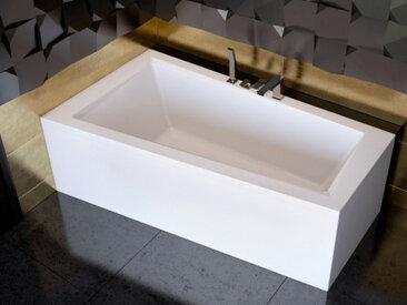 Baignoire d'angle GAUCHE INTIMA 150 ou 160 cm AVEC TABLIER - 150cm