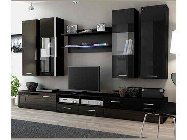 Ensemble meuble TV DREAM II 300cm - Noir