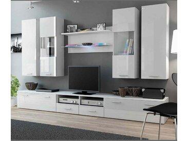 Ensemble meuble TV DREAM II 300cm - Blanc