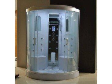 Cabine de douche hydromassante FRAHON 130x130x215 cm