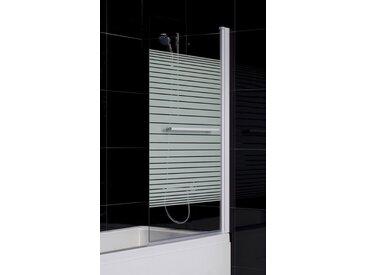 Pare baignoire MARTINA 86x140 cm - Droit
