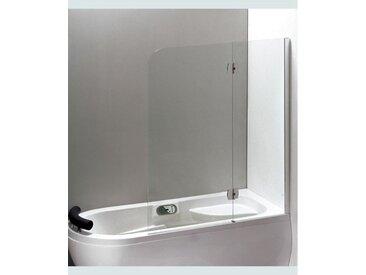 Pare baignoire KIRUMO 120x150 cm - Droit