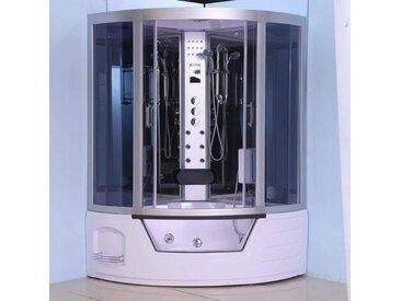 Combiné baignoire-douche TRIOM avec hammam et balnéo, 135x135x220cm