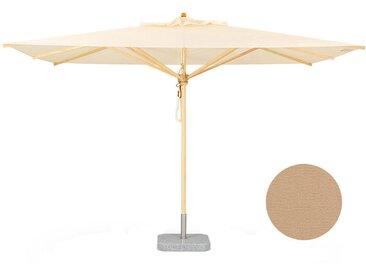 Weishäupl Parasol classique - Petit format et carré - Sans méchanisme de pliage - Dolan sable