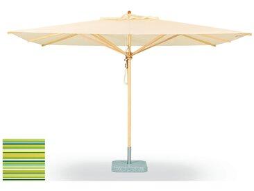 Weishäupl Parasol classique - Petit format et carré - Dolan spring - Sans méchanisme de pliage