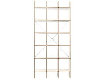 Moormann Système d'étagères FNP S - FU (bois stratifié) - blanc (FU)