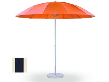 Weishäupl Parasol Pagode - grand format - Ø 300 cm - alu/blanc - WeishaeuplAcrylMarineNatur
