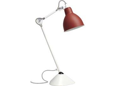 DCW éditions Lampe de table LAMPE GRAS N°205 - Blanc - rouge - DCWrund