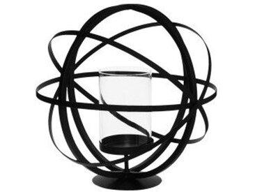 Photophore Boule Noir petit modèle