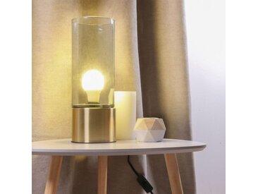 Lampe à poser Cylindre Allongé Or