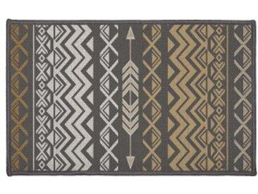 Tapis multi-usage (80 cm) Zaparos Or et gris