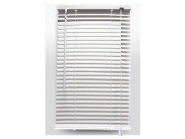 Store vénitien (40 x 180 cm) PVC Blanc