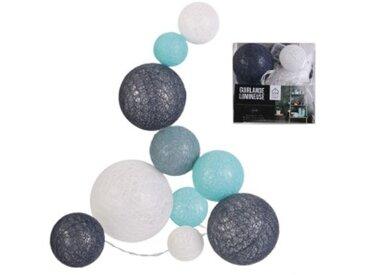 Guirlande Savannah Bleue 10 boules