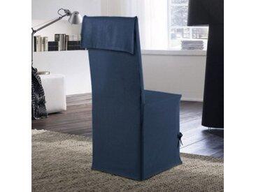 Housse de chaise Stella Bleue