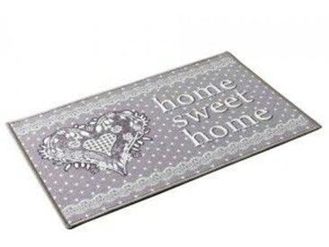 Tapis d'entrée (120 cm) Home Love Gris