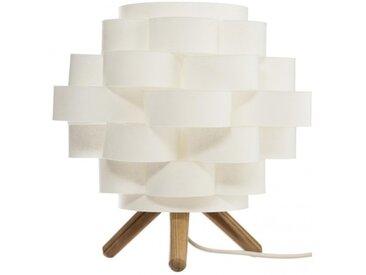 Lampe à poser Bambou Papier Blanche Petit modèle
