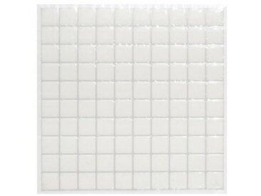 Lot de 2 planches stickers Petits Carreaux Blanc