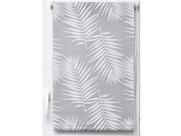 Store enrouleur tamisant (120 x 180 cm) Palmier Blanc