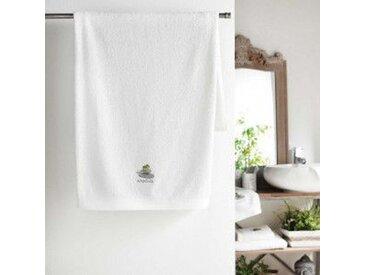 Serviette de bain (70 x 130 cm) Mineral Blanc
