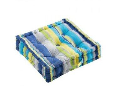Coussin de sol (45 cm) Marina Bleu