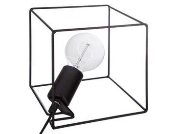 Lampe à poser Cubeo Noire