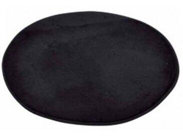 Tapis de bain Vita rond Noir
