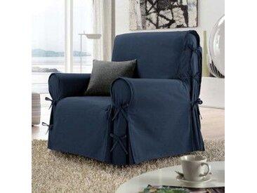 Housse de fauteuil Stella Bleue